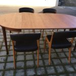 Table teck scandinave